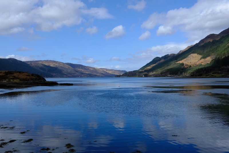 Loch Duich in the sunshine!