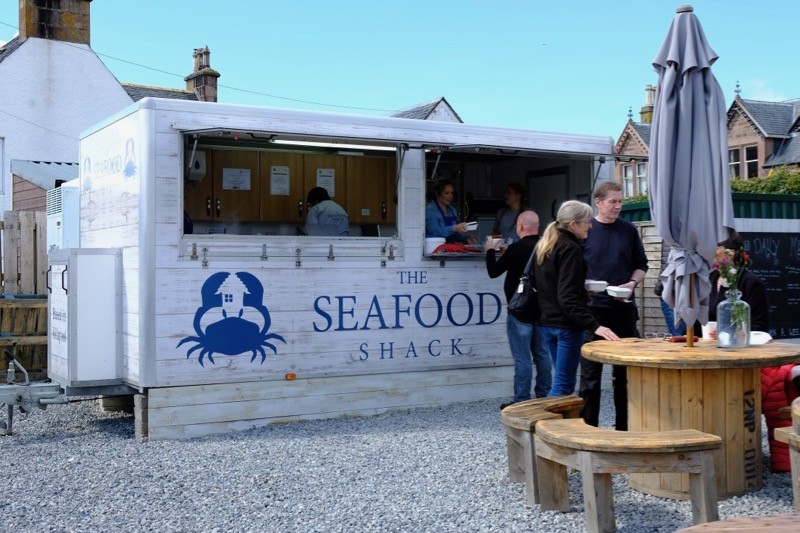 The Seafood Shack at Ullapool